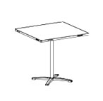 Modular Portable Table Systems: Furniture/Banquet Tables