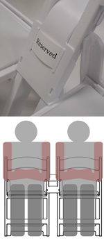 Chair link and spacer: you need space!!!