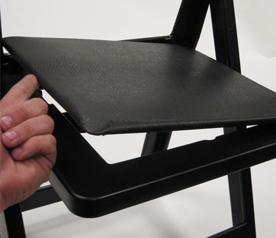 Extra seat sads for folding chairs
