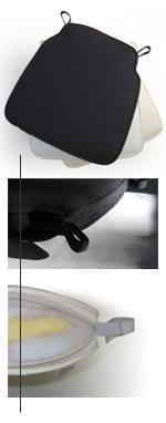 2 in. Custom Fit Chiavari Cushion