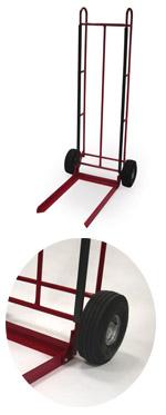 Chair hand truck, 2 wheels single axle