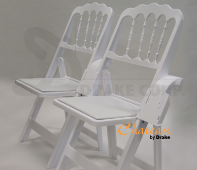 Chateau high back folding chairs / chair link and spacer