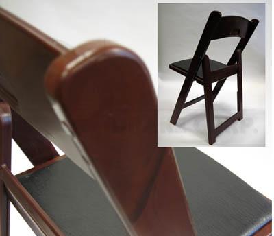 Redwood color / black seat
