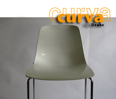 Curva Collection Stacking Chair Detail