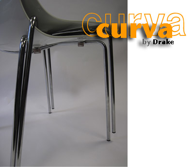 Curva Collection Stacking Chair Stacking Detail