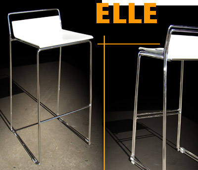 ELLE Collection Stacking Stools