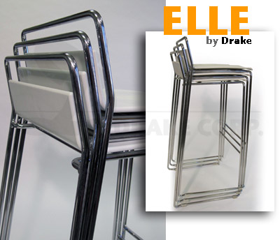 ELLE Extremely Compact Stacking, Detail