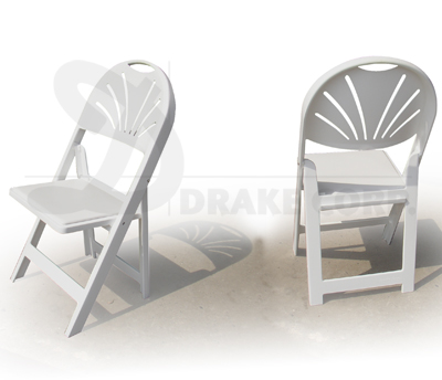 NEW FAN: resin folding and stacking chairs