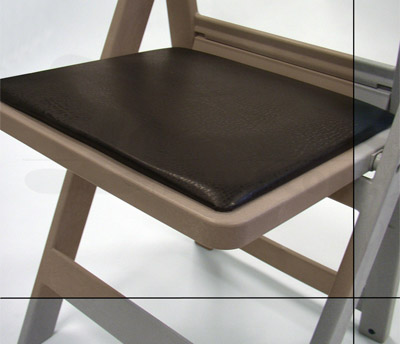 CHIP-R Resin folding chairs/Seat Detail
