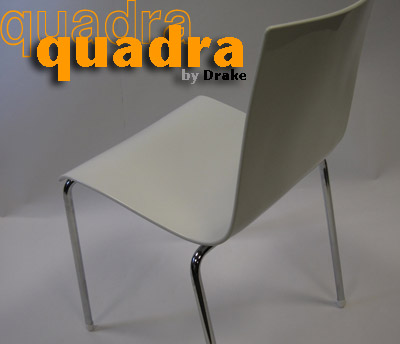 Quadra Stacking Chairs Detail