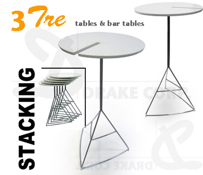 TRE3 TABLES & BAR TABLES collection