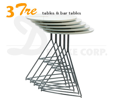 TRE3 TABLES, stacking