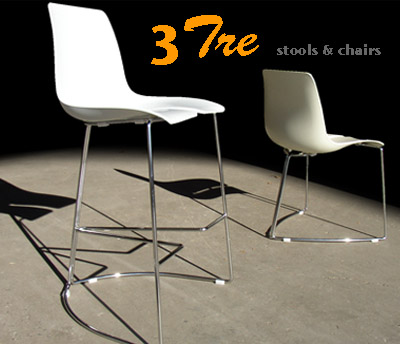 TRE3 collection chairs and barstools