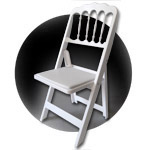 CHATEAU: folding and stacking chairs