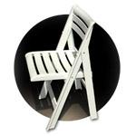 ISPRA sedia pieghevole ed impilabile