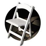 Structure sedia pieghevole ed impilabile