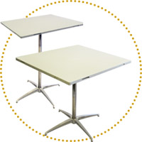 DSN Modular & Linking Banquet Tables & Bar Tables System