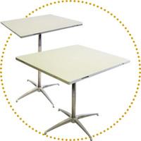 DSN sistemi di tavoli e tavoli bar modulari e collegabili per eventi, catering style