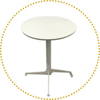 Round Folding & Nesting Restaurant Tables