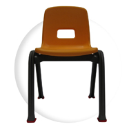 "D130 12"", Kid chair recommended for kindergarten and preschool"