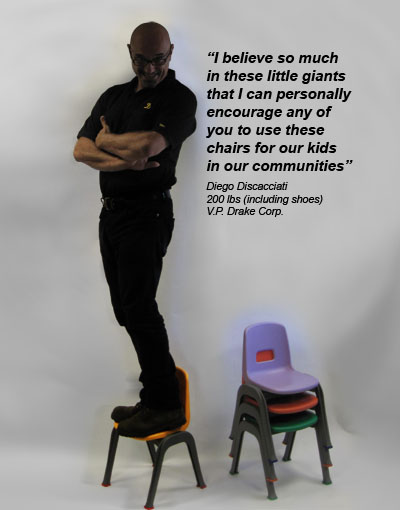 Kindergarten Chairs Little Giant - message from the VP
