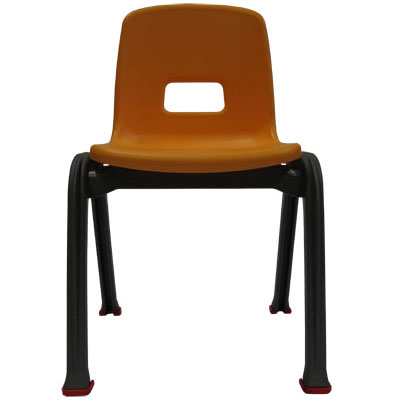 D130 Single Kid Chair Yellow. D130 a rainbow of kids chairs!!! Recommended for kindergartens, preschools, schools