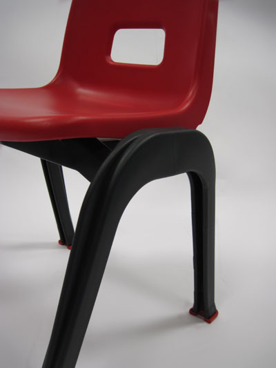 D130 Preschool Chair Detail red
